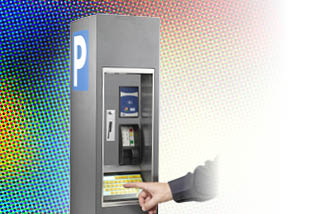 Equipped with a color or black and white touch screen and the latest payment methods